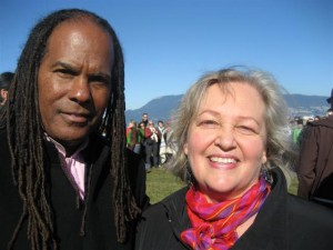 Michael Beckwith Diana Walker Vancouver 2009 Peace Circle