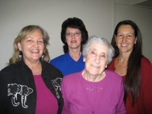 Denise Eckstadt, Diana Walker, Roselyn Phare, Goldie Denise