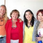 Christine Germyn, Diana Walker, Sally Kwok, Cecilia Garcia