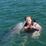 Diana Walker Dolphin Swim Grand Cayman 4700
