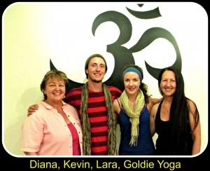 Yoga in Salmon Arm www.dianawalker.com  Diana Walker Kevin and Lara and Goldie May 2013