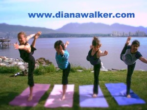 Photos Vancouver Background by Diana Walker Vancouver Kitsilano Beach Yoga and Sunrider Health in Vancouver Canda www.dianawalker.com