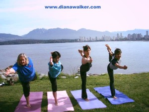 Yoga and Sunrider Health in Vancouver Diana Walker Canada www.dianawalker.com