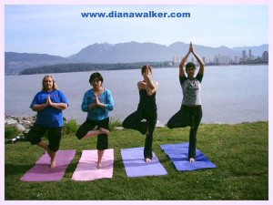 Yoga and Sunrider Health in Vancouver Canada www.dianawalker.com Diana Walker photos