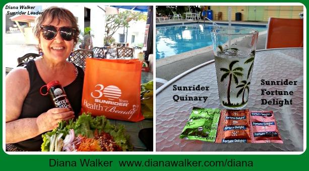 Diana Walker Sunrider Quinary Fortune Delight www.dianawalker.com/diana