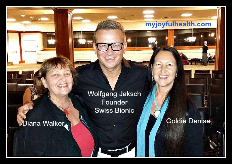 Wolfgang Jaksch Swiss Bionic Diana Walker Goldie Denise Nov-2016 PEMF Omnium1