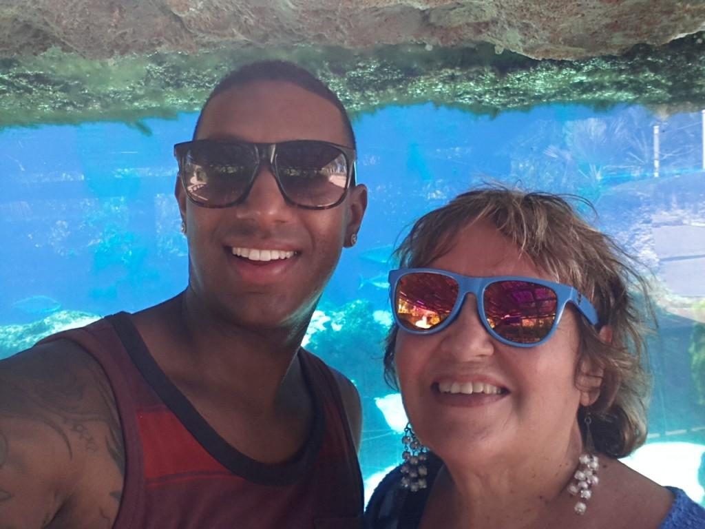 Jesse Walker Diana Walker Grand Cayman March 2014 Caribbean Vacation