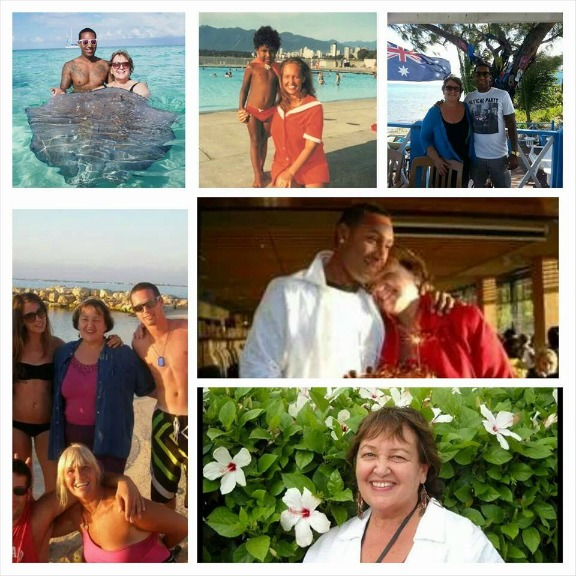 Jesse Walker Collage with Diana Walker Mothers Day 2014 Caribbean