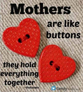Mothers are like Buttons - They Hold Everything together! Happy Mother's Day!Mothers are like Buttons - They Hold Everything together! Happy Mother's Day!