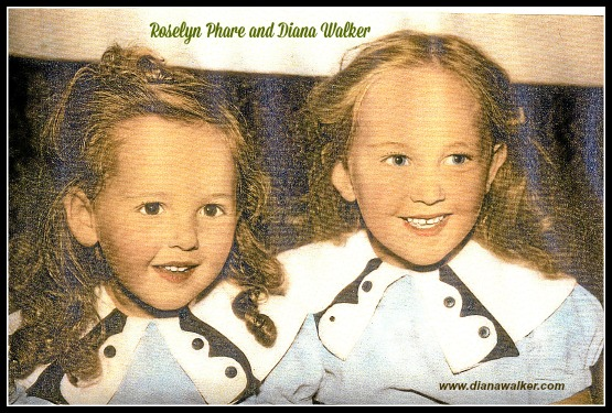 Roselyn Phare and Diana Walker Childhood Memory Photos