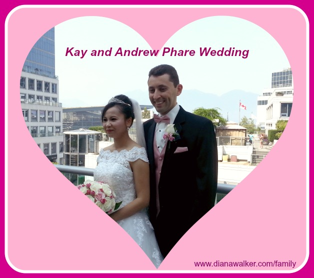 Kay and Andrew Phare Wedding Heart Vancouver BC Canada