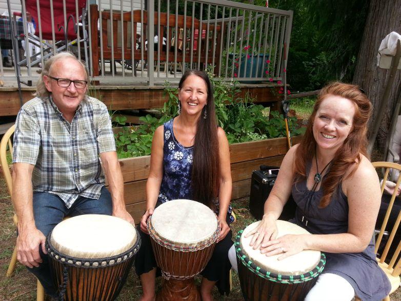 Jim Wilson Goldie Denise Kjara Brecknell Drumming