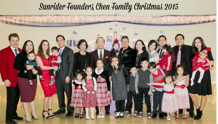 Sunrider Christmas Diana Walker Dr Tei Fu Chen Founder and Family