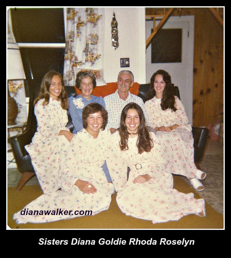 Sisters Diana Goldie Rhoda Roselyn