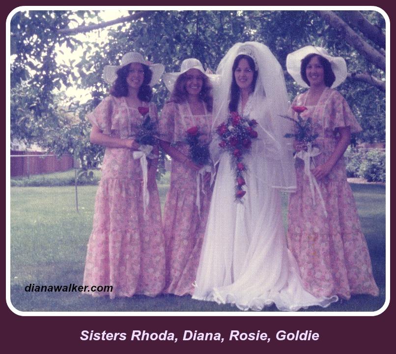 Sisters Diana Walker 1975