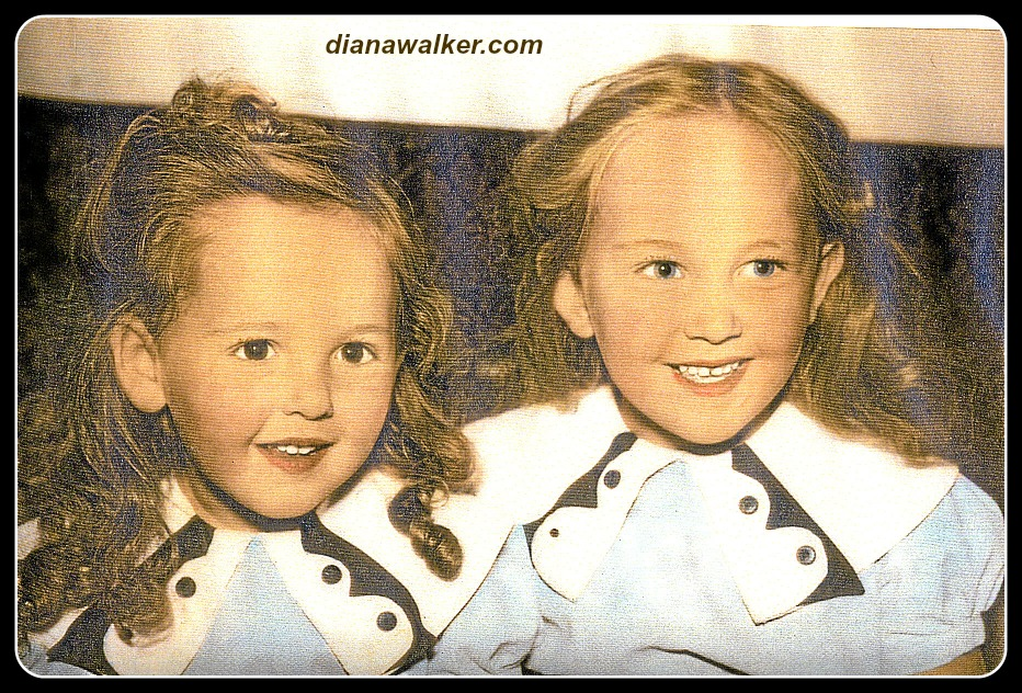 Sisters Roselyn and Diana