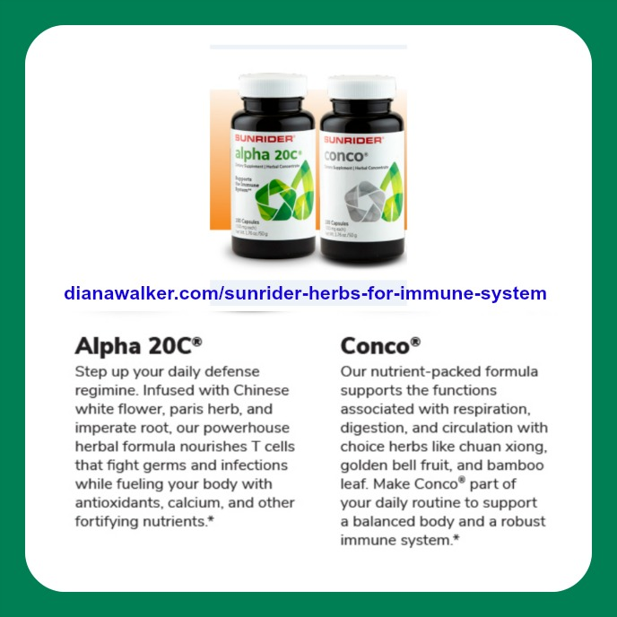 Sunrider Herbs for Immune System