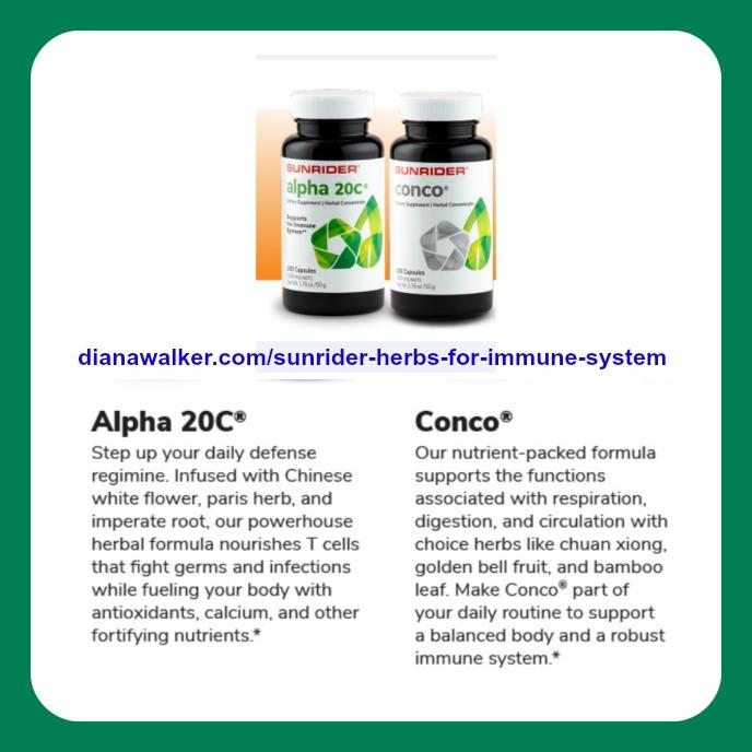 Sunrider Herbs for Immune System