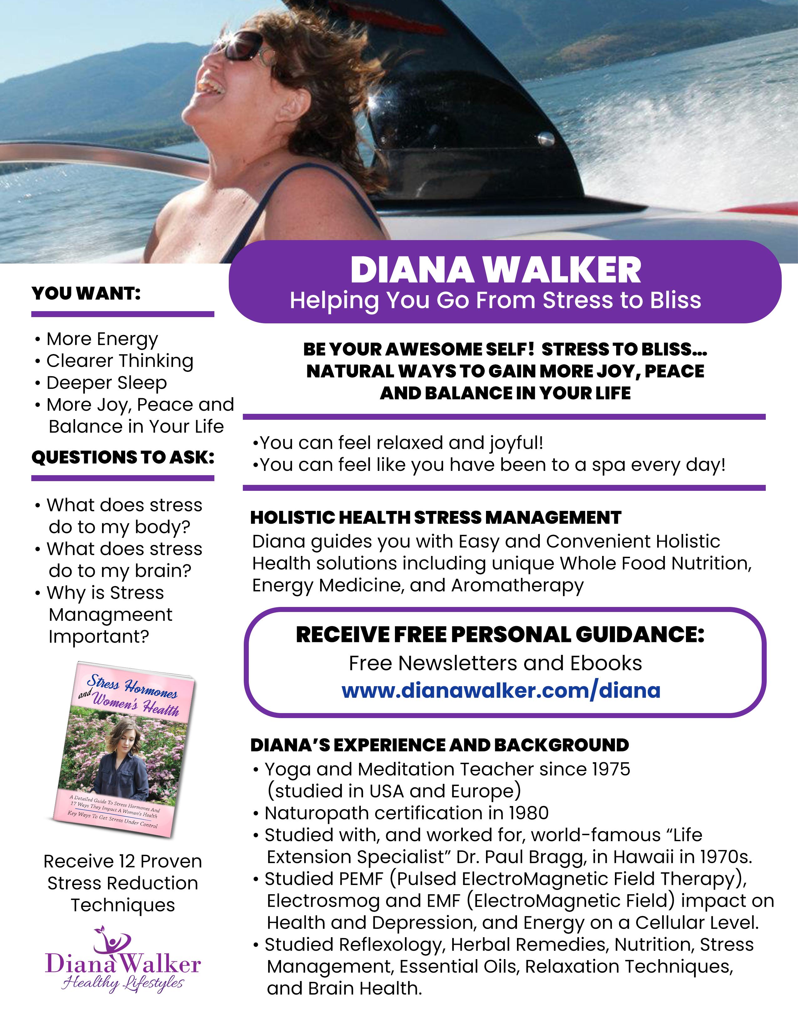 Diana Walker Sunrider Health Nutrition